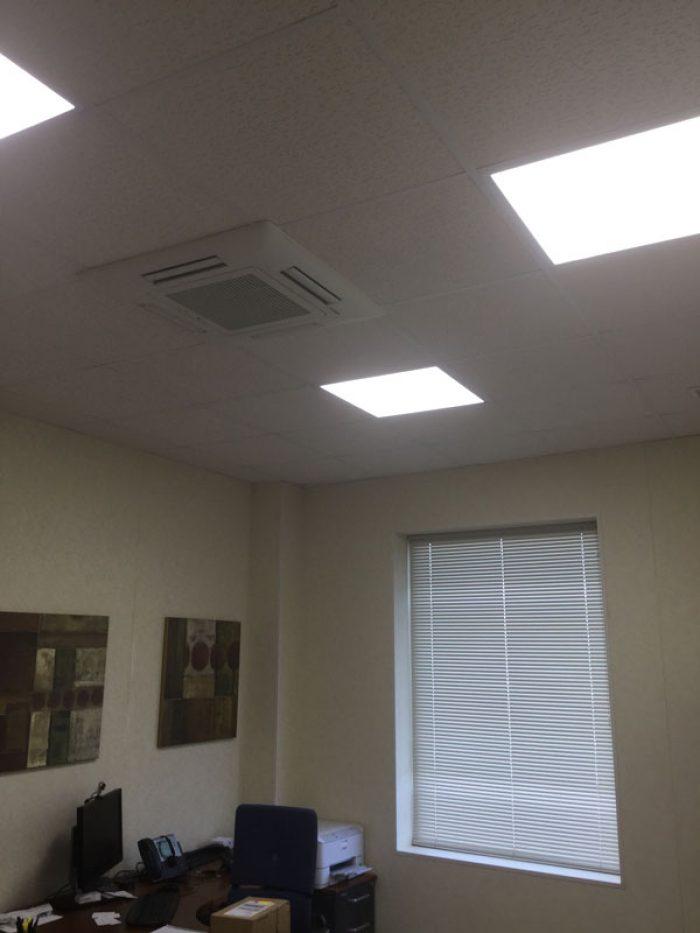 Iluminación LED en edificios