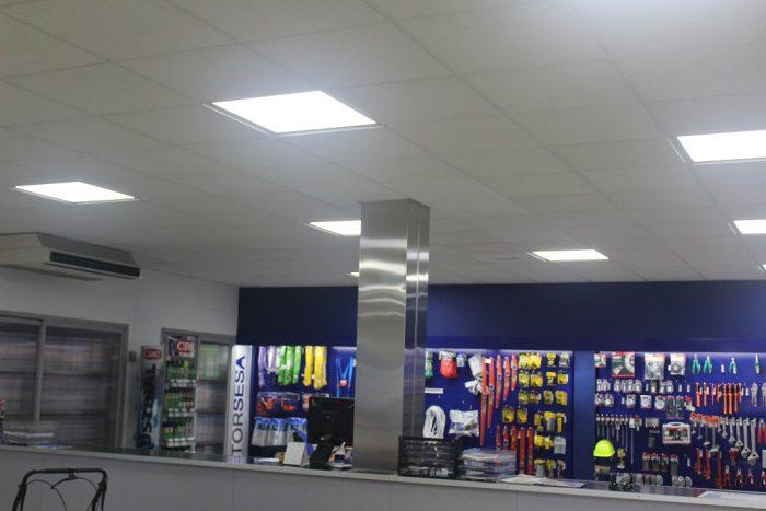 Iluminación LED en Comercios, Edificios y Oficinas