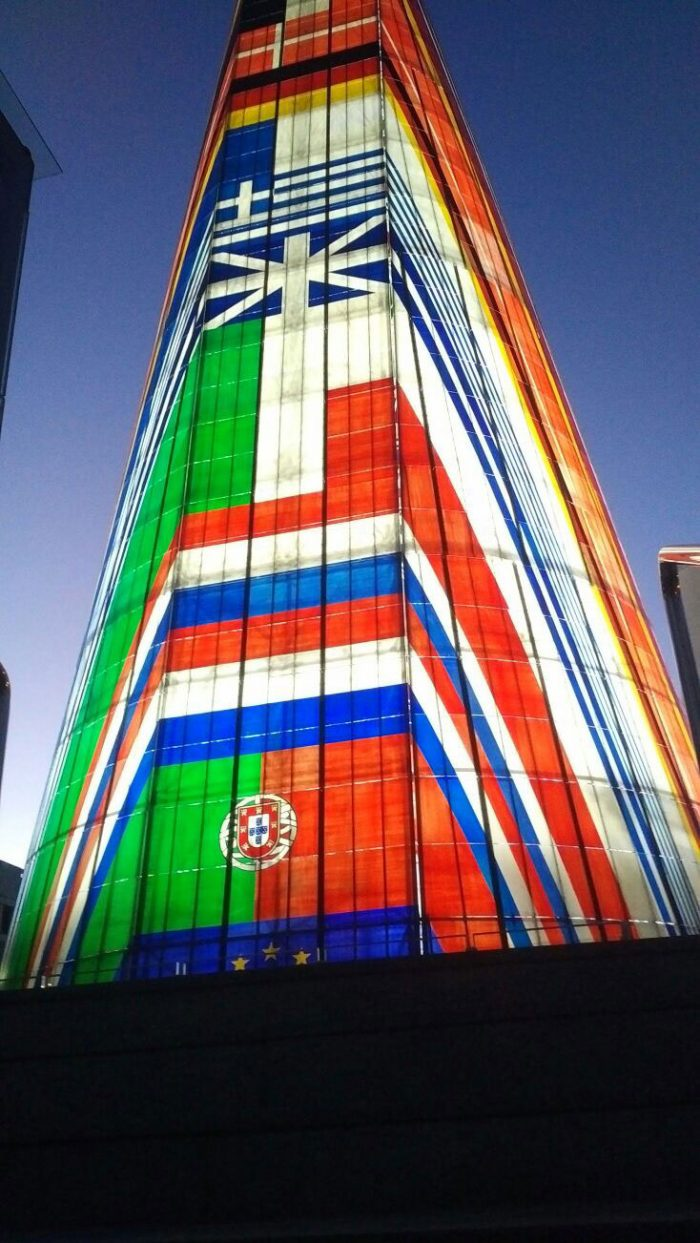 Iluminación LED para fachadas e interiores de edificios
