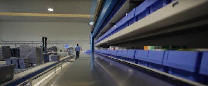 Iluminación LED en plantas de producción