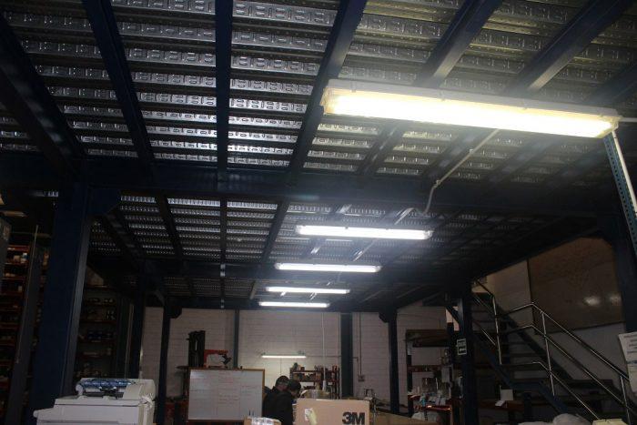 Iluminación LED en industrias