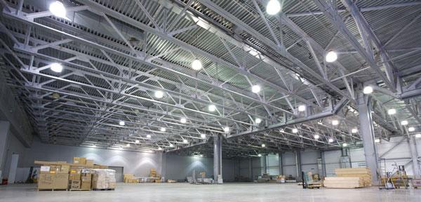 Servicios de Iluminación LED y ahorro energético para Industrias