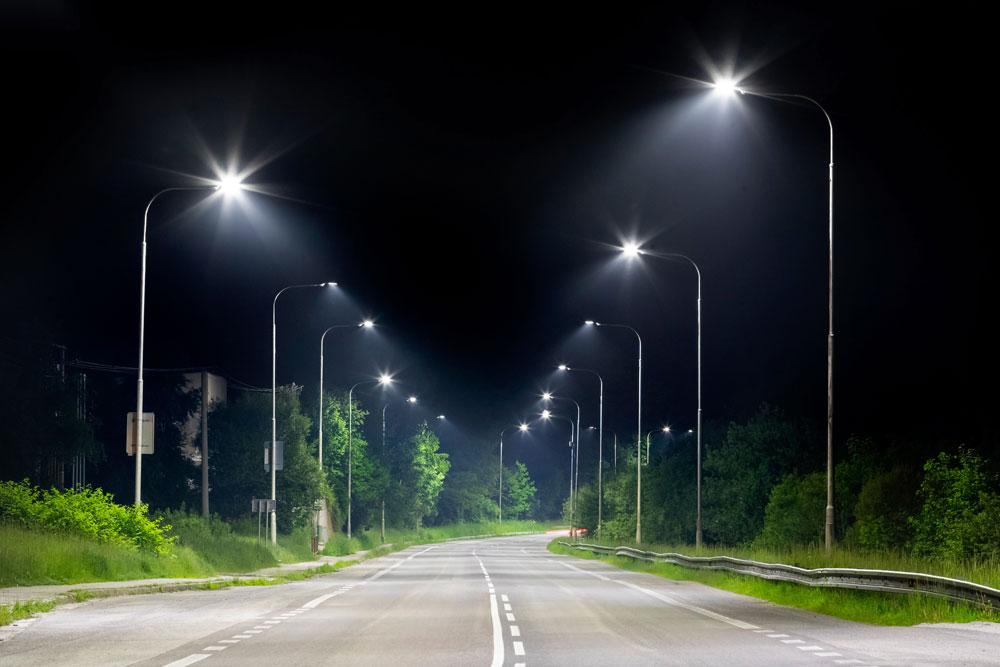 Soluciones de iluminación vial