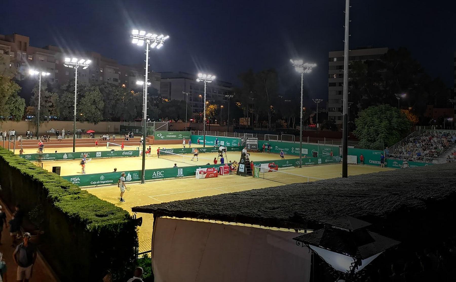 Soluciones de Iluminación LED para instalaciones deportivas - minusWAT